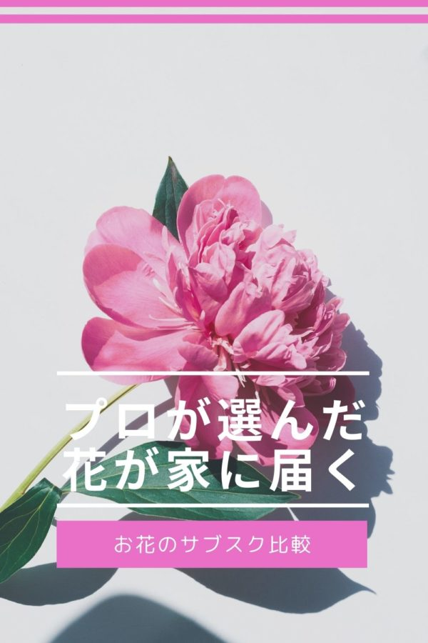 お花のサブスク比較