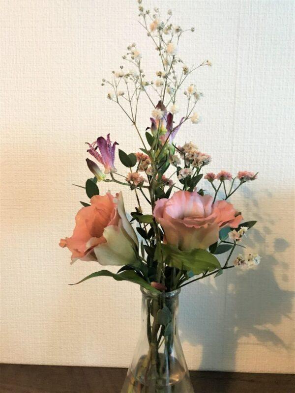 ブルーミーライフの2回目のお花