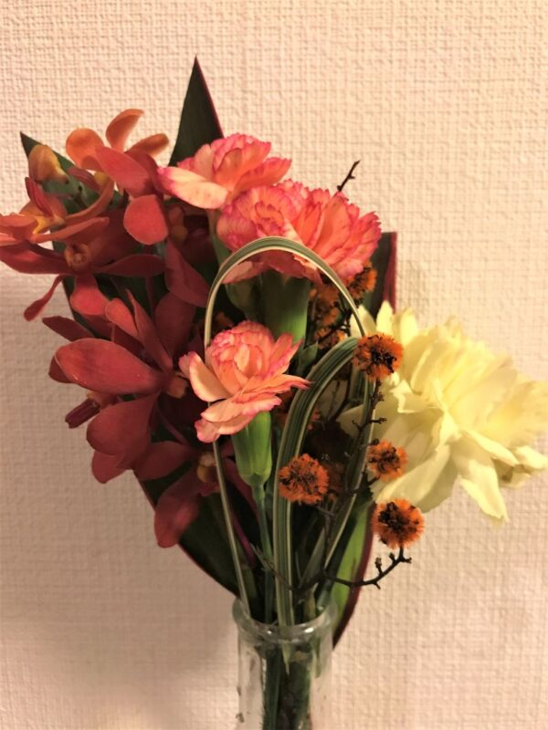 ブルーミーライフの4回目のお花
